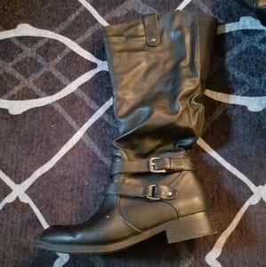 Shoes - Black calf boots